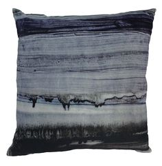 Parallel Lines Velvet Pillow