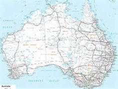Map of Australia with Cities - Bing Images
