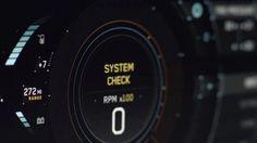 "UI for GM's concept car ""ELMIRAJ""  Agency: GM Advanced Design Studio Agency Design Director: Gael Buzyn Production Facility: Autofuss UI Graphics…"