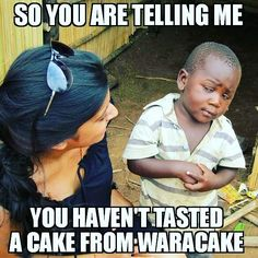 Haha ! You know you need to !! Too much deliciousness yummyness happiness sweetness everythingness !! #WaraCake