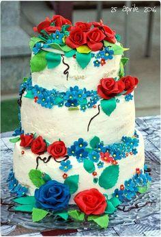 Naked Cake Rose
