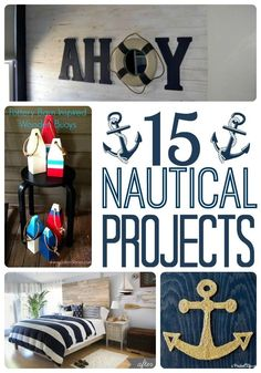 DIY Nautical Decor Roundup - A Prudent Life
