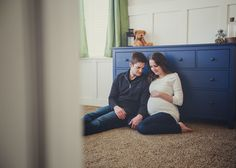 Lyndsi Espinel Photography: Veronica at-home Maternity