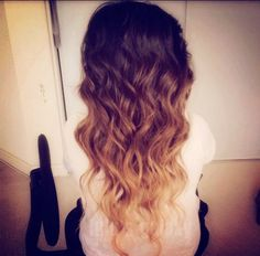 i am thinking about doing this ombre with my hair