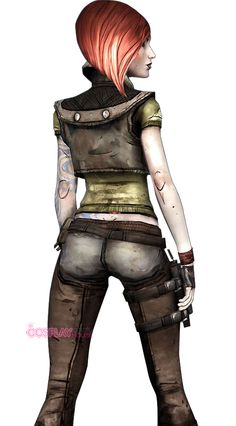 boarderlands costumes | Borderlands -- Lilith Cosplay Costume Version 01