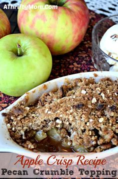Apple Crisp recipe f