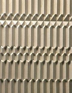 Trifaces Engineered Marble Three-dimensional Tiles. — Giovanni Barbieri: