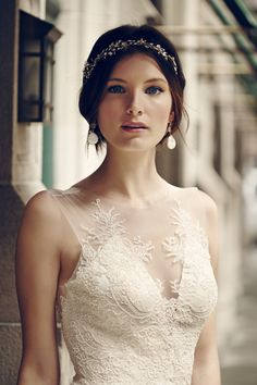 Yasmin Gown by Catherine Deane   a BHLDN exclusive