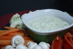 Appetizer: Greek Yogurt Onion Vegetable Dip