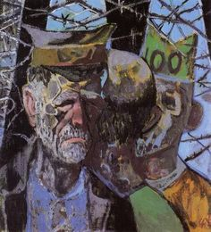 Otto Dix, Self-portrait as a Prisoner of War. Staatsgalerie, Stuttgart by renzodionigi, via Flickr