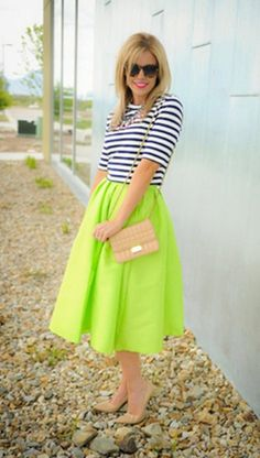 Pleated knee length skirt, great modest skirt. perfect year round! so many color choices too