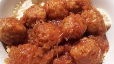 Sauerkraut, cranberry sauce and spaghetti sauce bring their unique flavors to this rich sweet and sour sauce for meatballs.