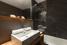 My starting point is the Almmonte Sensum Suites, an inviting and uncomplicated boutique hotel with a clean design located in Wagrain in the Salzburger Land region of Austria. Silent Night, Clean Design, Austria, Boutique, Mirror, Furniture, Home Decor, Decoration Home, Room Decor