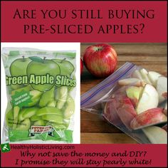 Why pay those high prices for pre-sliced apples when you can do it yourself? All you need to know is how to prevent apple slices from browning