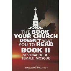 The Book Your Church Doesn't Want You To Read Book II Or Synagogue, Temple, Mosque - The consumer guide to all religions. Best Books To Read, Good Books, My Books, Books By Black Authors, Black Books, Black History Books, Black History Facts, African American Books, Wisdom Books