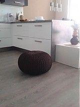 Úžitkový textil - Pouf - čokoládový - 4032644_
