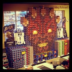Revenge of the Soda Display