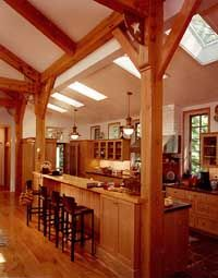 Timberframing is best if you can afford it!