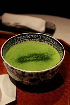 Creamy Green Tea