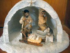 Nativity set - Alaska