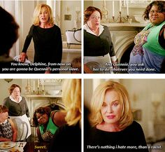 """Besides her idea of punishment.   25 Reasons To Love The Women Of """"American Horror Story: Coven"""""""