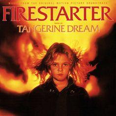 """Firestarter"" (1984, MCA).  Music from the movie soundtrack.  Music performed by Tangerine Dream."