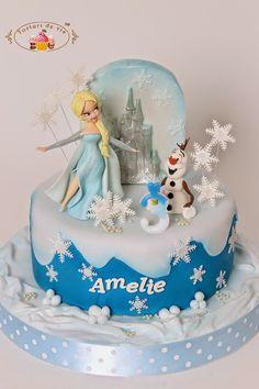 Tort cu Elsa pentru Amelie