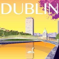Tarihi ve doğal güzelliklerini koruyan, modern, otantik ve büyüleyici şehir Dublin. #Maximiles #İrlanda #Dublin #ArtDeco #vintage #poster #travel #city #postcard #holiday #vacation #seyahat #tatil #şehir #kartpostal #gezi #nature #historical #modern #doğa #tarihi #ÖzgürceUç #DünyaSizin #OnuİyiKullanın #ŞehirPosterleri #instagood #picoftheday #instacity Dublin, Art Deco, Modern, Instagram Posts, Poster, Ireland, Posters, Art Decor