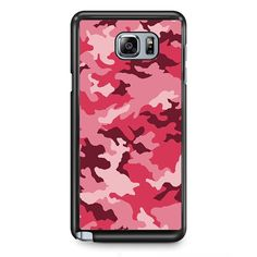 Pink Camouflage TATUM-8649 Samsung Phonecase Cover Samsung Galaxy Note 2 Note 3 Note 4 Note 5 Note Edge