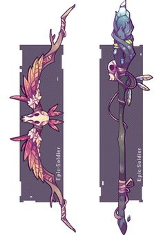 Weapon commission 47 by Epic-Soldier on DeviantArt Anime Weapons, Fantasy Weapons, Fantasy Kunst, Fantasy Art, Character Concept, Character Art, Arte Do Kawaii, Sword Design, Weapon Concept Art
