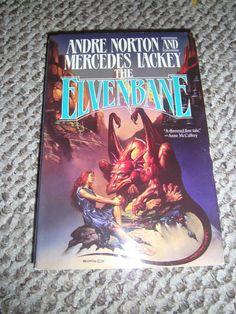 The Elvenbane Bk. 1 by Andre Norton and Mercedes Lackey (1991, HCDJ)