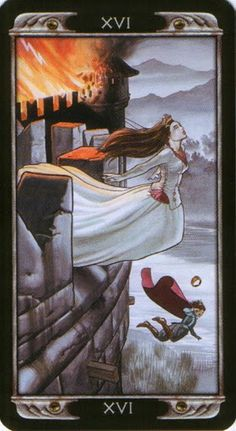 The Tower - Ludy Lescot Tarot
