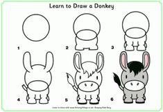 Learn to Draw a Donkey and more!