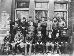 As a young man on his father's farm in Dearborn, Henry Ford had followed Thomas Edison's career. He took a job at the Edison Illuminating Company, which later became Detroit Edison, and soon worked his way up to chief engineer. Henry Ford is hatless in top row of this group photo of the Edison Illuminating Company in 1892. (Detroit News archives)