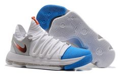 timeless design 71590 93af4 Now Buy Nike Zoom White Blue 897816 103 Basketball Shoe For Sale 343313  Save Up From Outlet Store at Nikelebron.