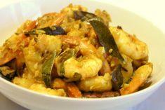 Krewetki w Paście Tamaryndowca to bardzo smaczna i aromatyczna hinduska potrawa