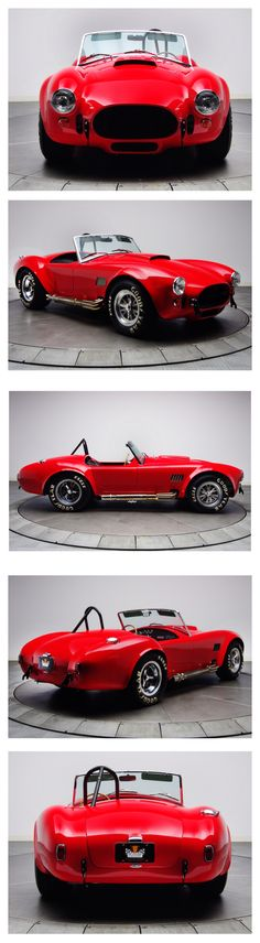 1965 Shelby Cobra, My hubby's dream car! I am determined to make that dream a reality <3