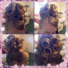 Hairdos! on Pinterest | Pentecostal Hair, Pin Curls and Apostolic ...