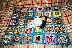 Crochet cover by Olga Anohina