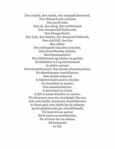 The 435 best gaelic images on pinterest irish irish language and gaeilge mo chroi fandeluxe Images