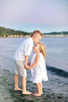 Summer family photo shoot, beach family photos, summer pictures, summer family photos, summer family photo ideas, beach themed ideas. Sand, nautical, water, beach, brother, sister, sibling, love, family, photography.