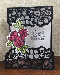 Suz's Stampin Spot: April 2018 Club Card