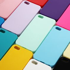 Solid Candy Color TPU Back Cover Case for iPhone 5 Silicone Case for iPhone 5S Soft Gel Rubber Phone Cases for iPhone SE * Locate the offer simply by clicking the image