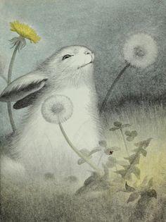 "ohsamiam: ""Garth Williams, The Rabbit's Wedding"""