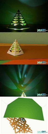 DIY Glowing Christmas Tree DIY Projects | UsefulDIY.com