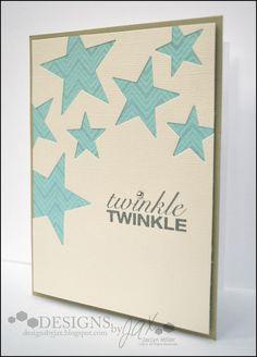 Twinkle Twinkle - Scrapbook.com, Thank You Cards, Twinkle Twinkle Little Star Baby Shower