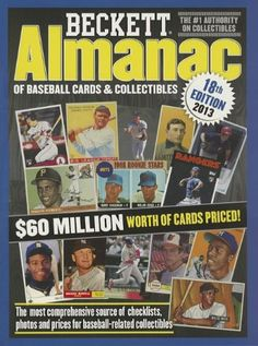 Beckette Almanac of Baseball Cards and Collectibles.  sports  baseballcards   collecting Price Book 51f8aeb33