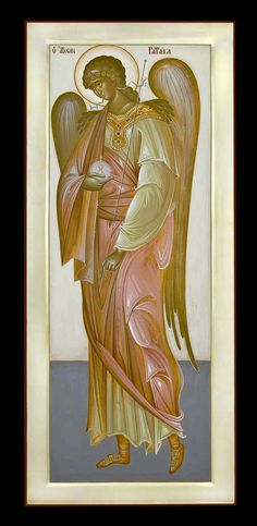 Greece -by George Kordis ~~~. Orthodox Christianity, Angels And Demons, Byzantine, Ikon, Greece, Saints, Paintings, Dolls, Inspiration