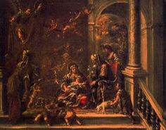 , óleo de Juan De Valdés Leal (1622-1690, Spain)