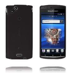 Mjukskal (Svart) Sony Ericsson Xperia Arc-Skydd